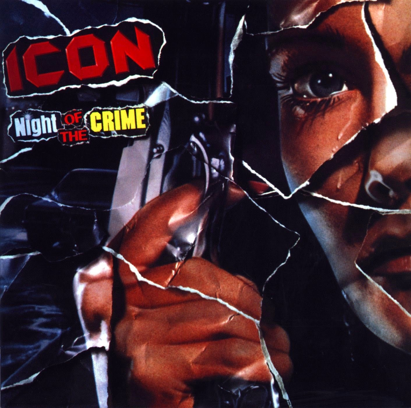 Icon Night of the crime 1985 aor melodic rock music blogspot albums