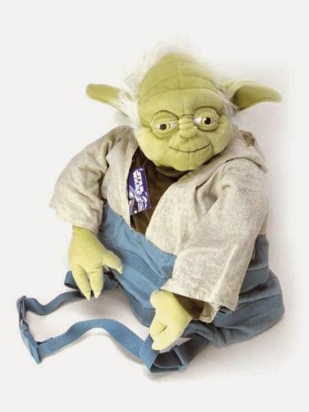 Peluche Mochila Yoda