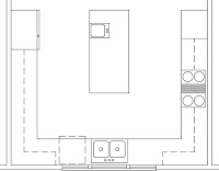 Torre Forno E Microondas as well Up House Floor Plan By Bangerter Blders First Floor moreover Kenyon B41540x likewise 01 in addition Kitchen Cabi  Sizes. on kitchen appliance layout