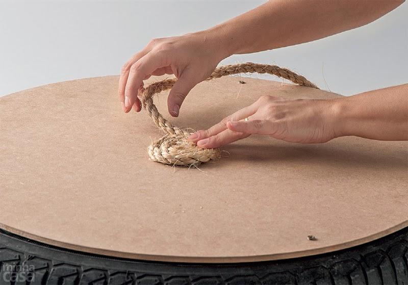 انشاء شكل حلزوني انطلاقا من مركز قطعة الخشب