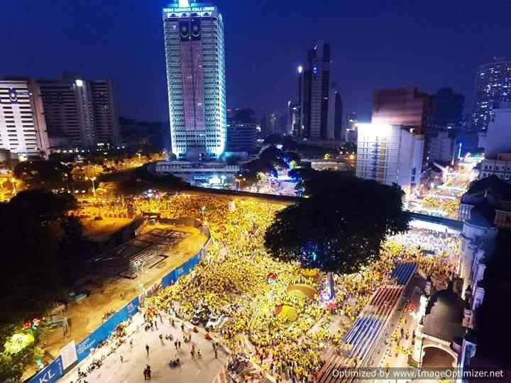 Bersih 4.0 di ibu negara.