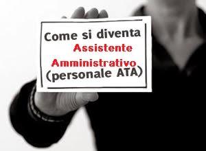 Personale ATA - Assistente amministrativo