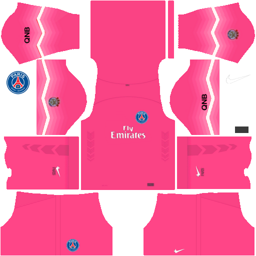 First Touch Soccer FTS15 kit PSG Pink GK