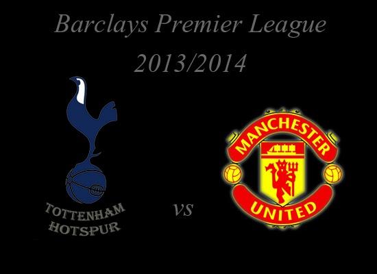 Tottenham Hotspur vs Manchester United Premier league 2013