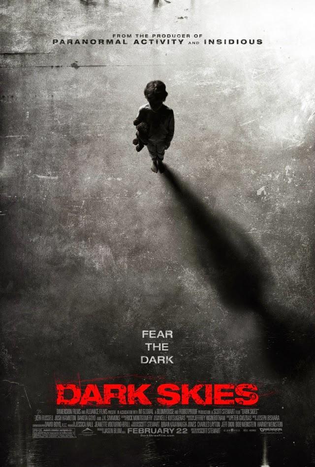 La película Dark Skies ( Los Elegidos )