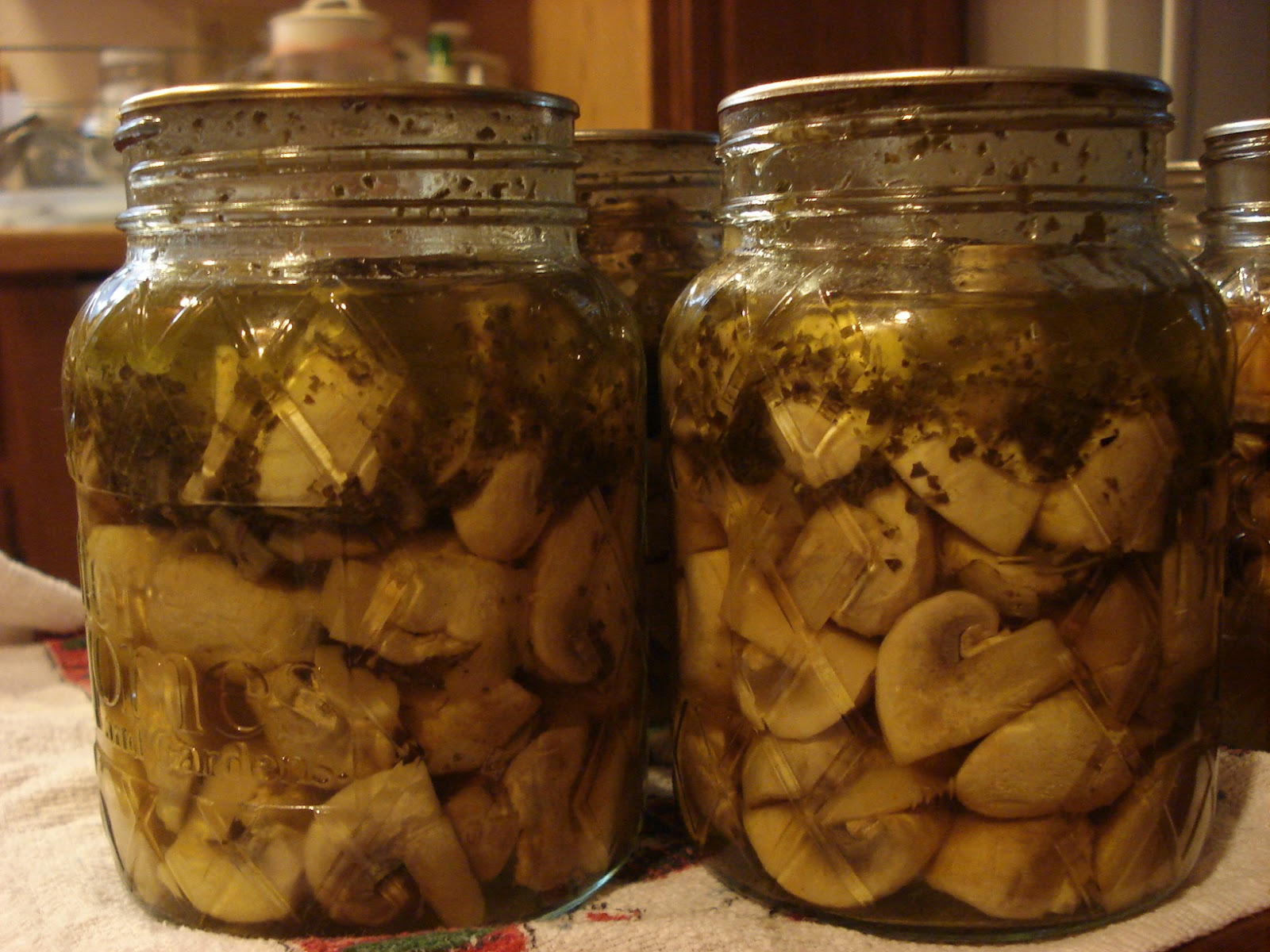 Marinated Mushrooms - Part 2 of Canning Mushrooms ...