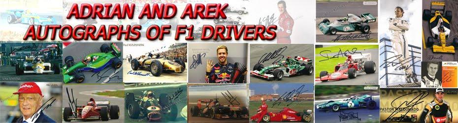 Autographs-F1