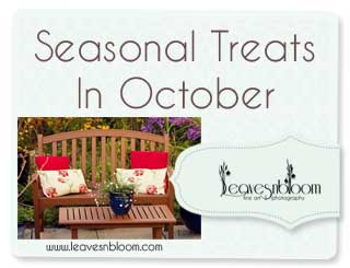 seasonal treats in October