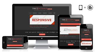 Template Blog Responsive