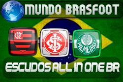 Escudos All In One Brasileirão - Brasfoot 2011