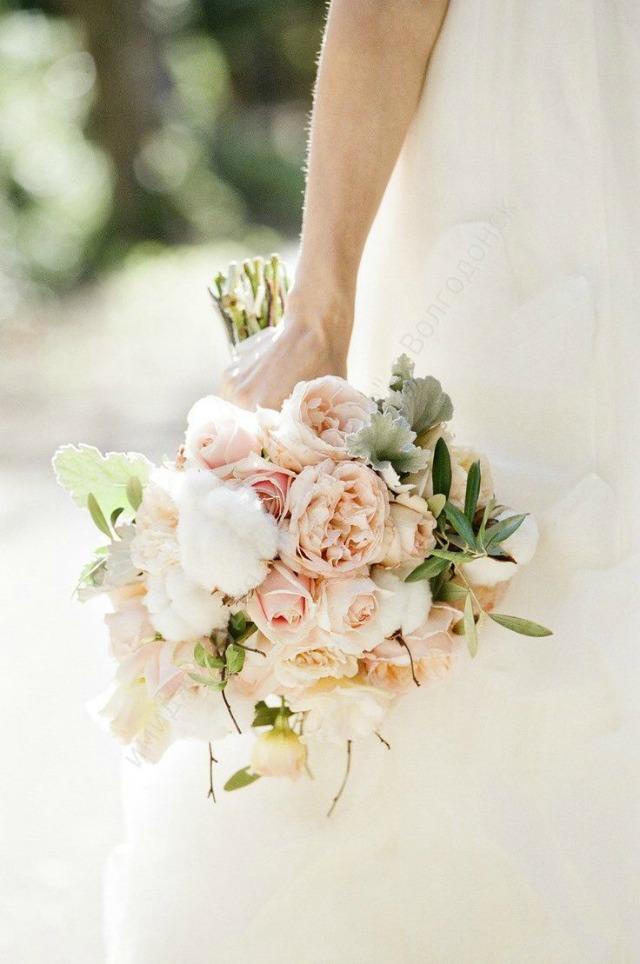 cotton wedding algodon bodas ideas flor bouquet planta