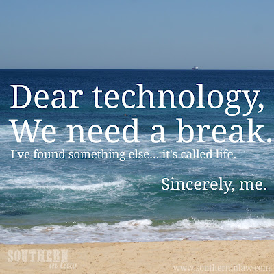 Dear technology, we need a break - Tips for the perfect vacation