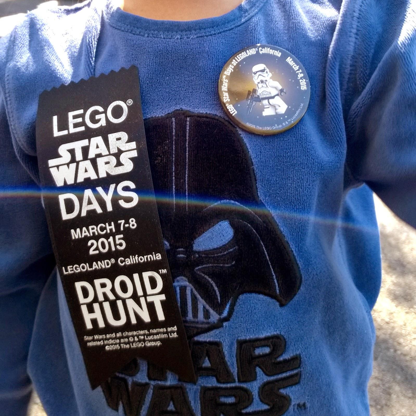 Legoland California Star Wars Days 2015