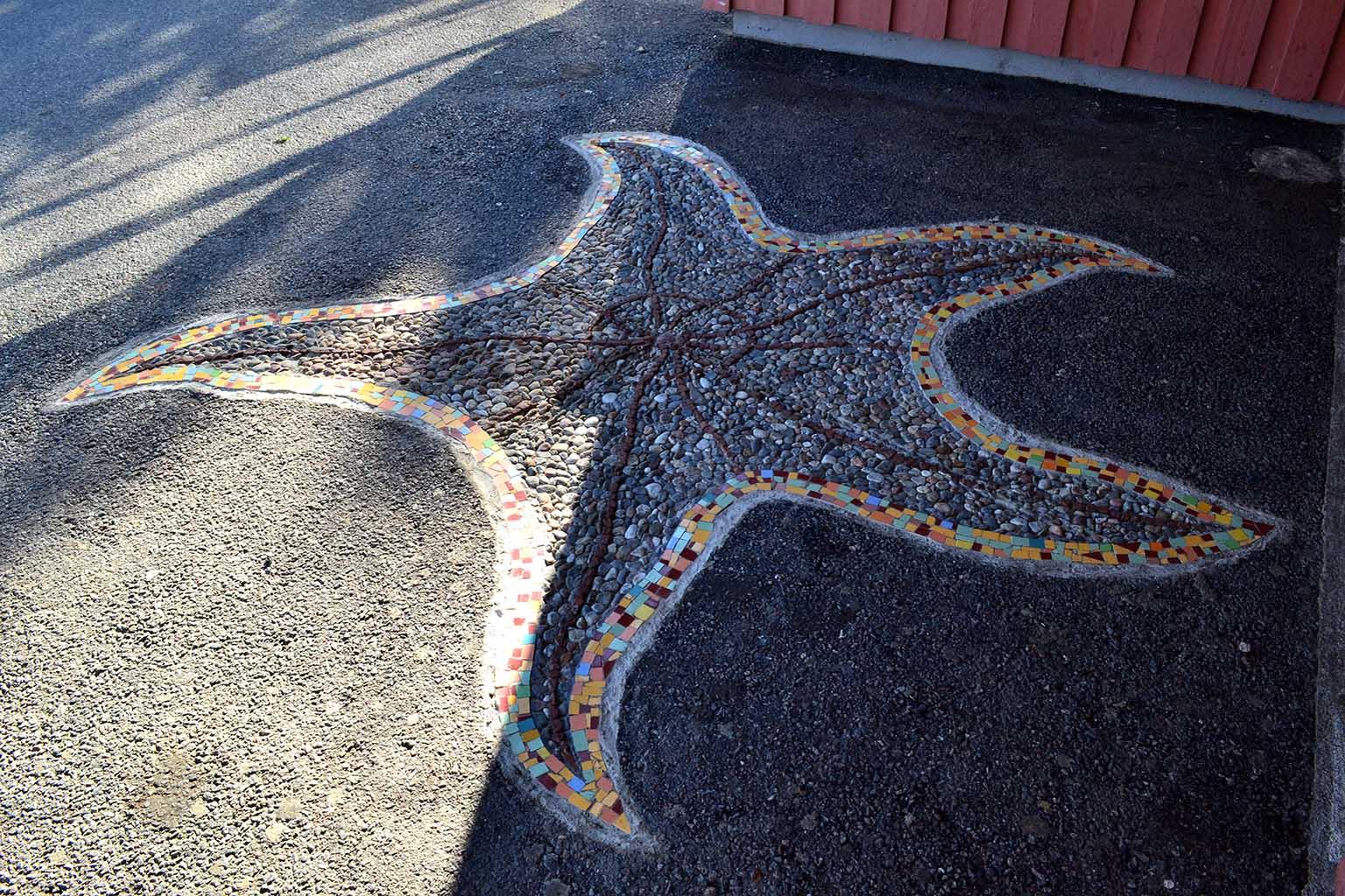 Mosaico en Jordbro (Estocolmo)