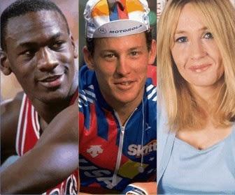 Cerita motivasi tentang ketekunan dan antusiasme dari Michael Jordan - Lance Amstrong - JK Rowling