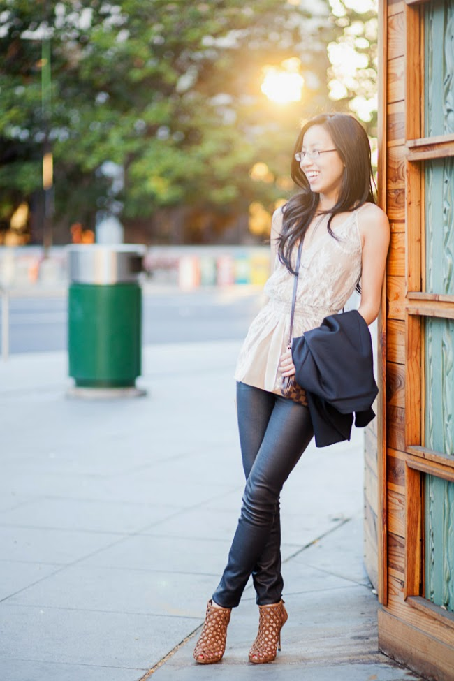brown and black outfit idea trend rule