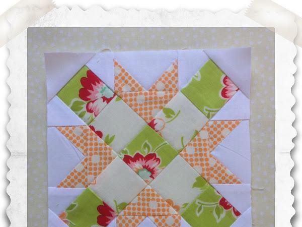 Chatelaine- Free BOW Sampler Quilt Block 57
