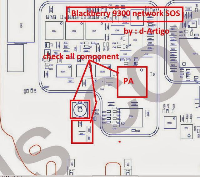 BLACKBERRY 9300 NETWORK SOS