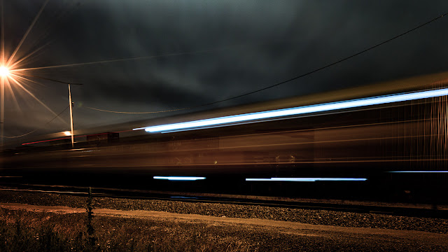 train-at-night