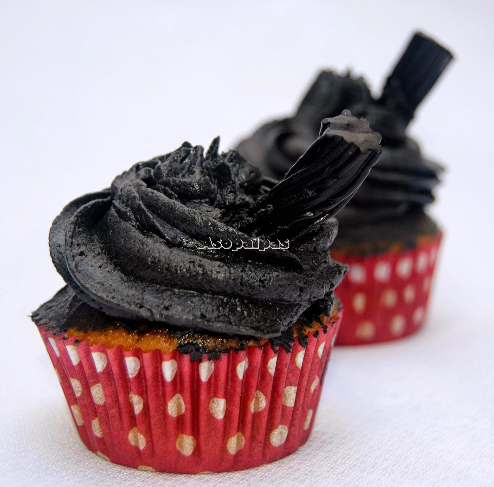 Cupcakes de Regaliz