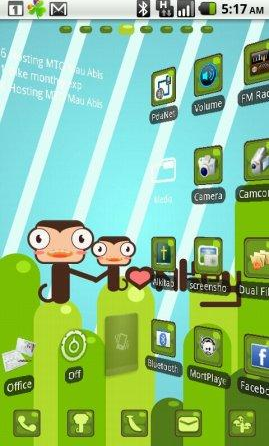 tema go launcher android 3
