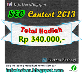 Kontes seo blog