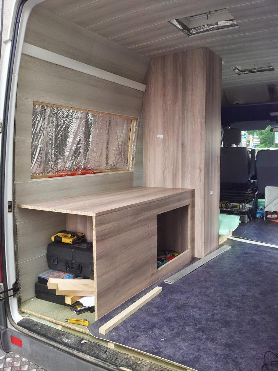 Amnagement Dun Sprinter En Camping Car Cloisons Et