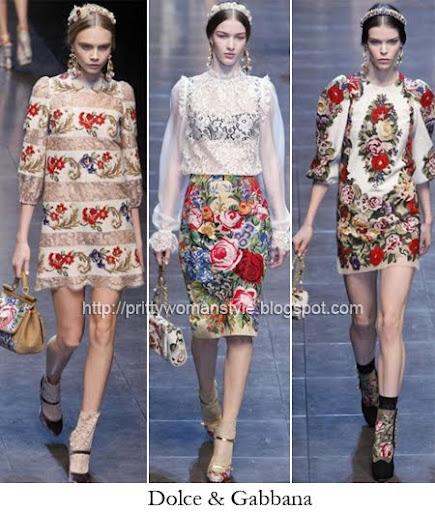 Dolce & Gabbana рокли на цветя