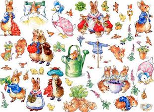 La página oficial de Peter Rabbit