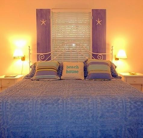 shutter decor bedroom