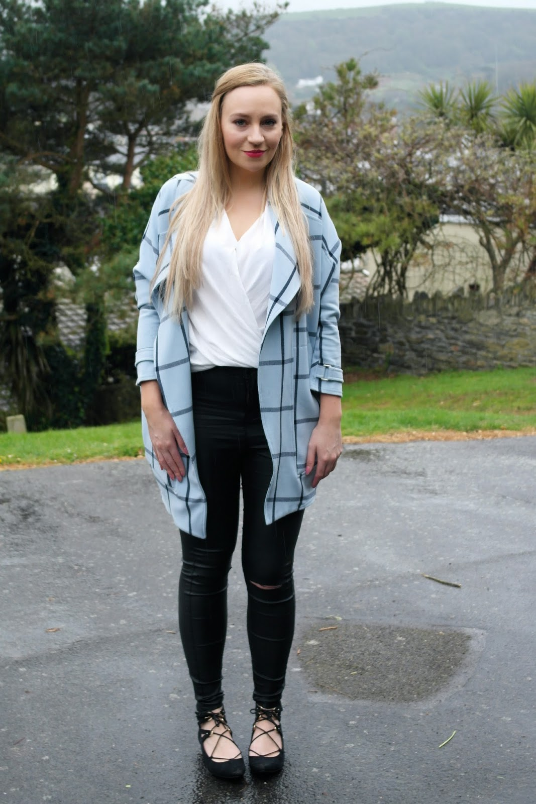 River Island checked jacket
