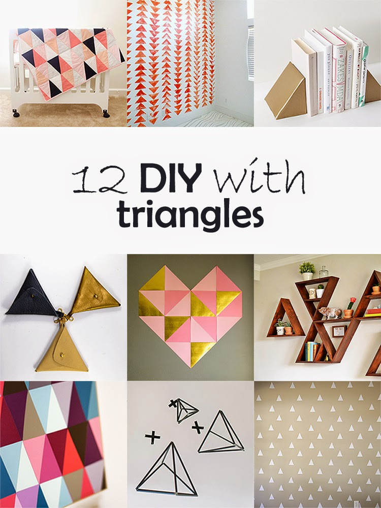 DIY Monday # triangles