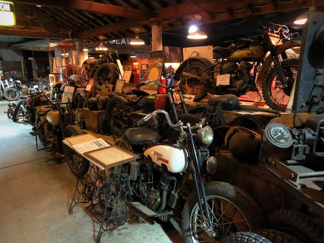 Antique motorcycles Wheels Through Time