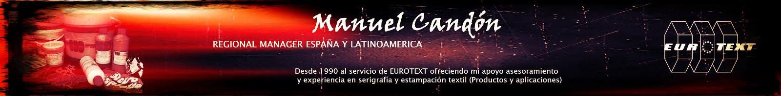 MANUEL CANDON  - Regional Manager España y Latinoamerica - Departamento comercial y exportaciones