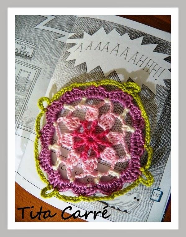 AAAAAAAHHH! - Sempre flores e motivos florais em crochet
