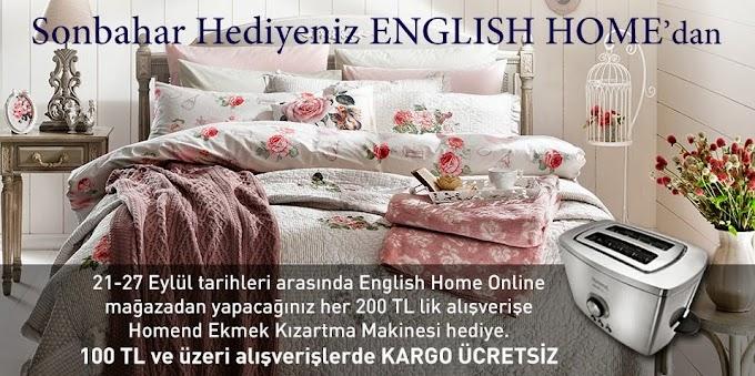 Sonbahar Hediyemiz English Home'da :)