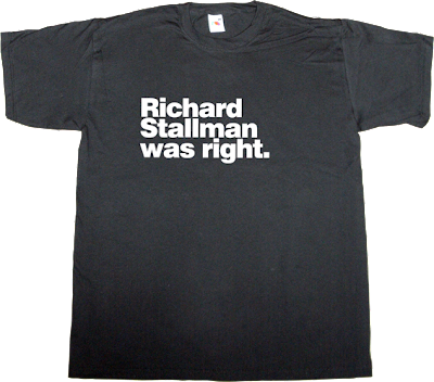 richard stallman useless copyright useless patents useless Politics activism sopa t-shirt ephemeral-t-shirts