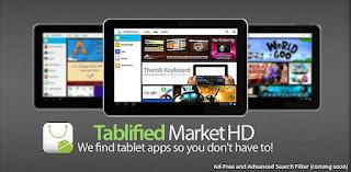 Encuentra aplicaciones optimizadas para tu tablet android con : Tablified