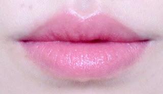 swatch Suqqu creamy glow lipstick lip lipswatch 1 saebana