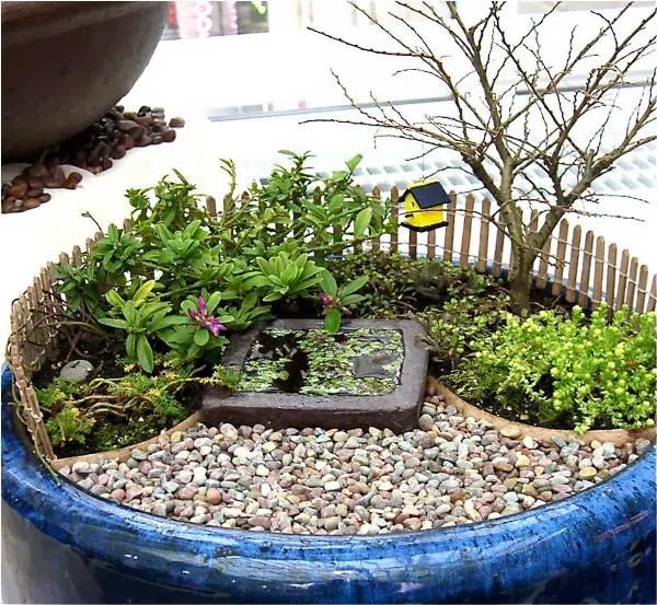 artesanato mini jardim : artesanato mini jardim:Jardim em Miniatura ~ Artesanato na Pratica