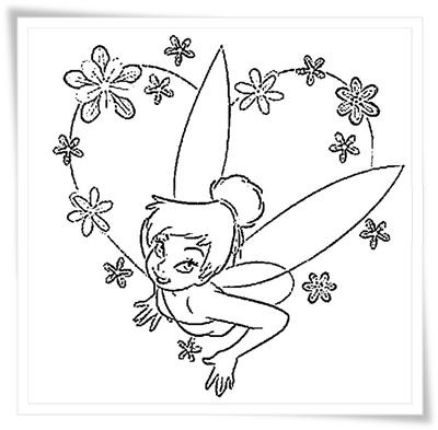 Tinkerbell Malvorlage - AZ Ausmalbilder - ausmalbilder tinkerbell malvorlagen