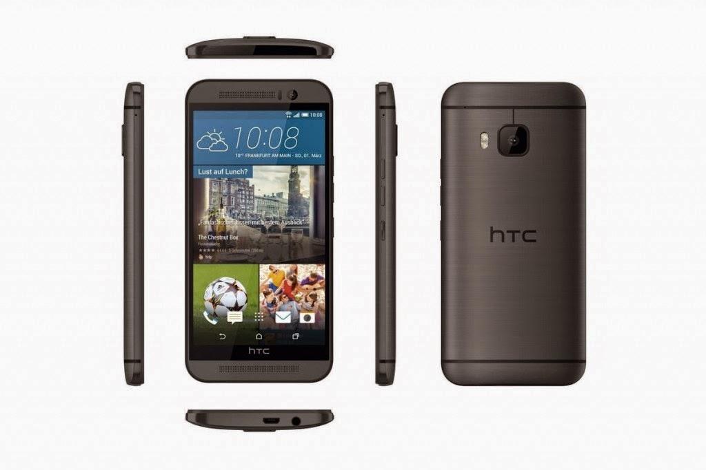 الخبير   طريقك إلى عالم التقنية ، هاتف HTC One M9 باللون الرمادي الغامق والأسود 3