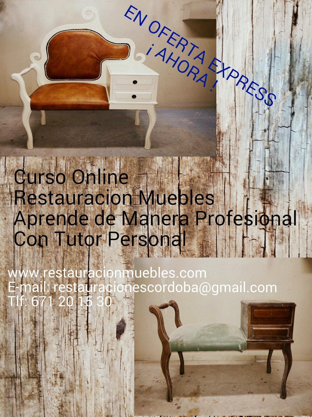 curso de de muebles antiguos online matricula gratis