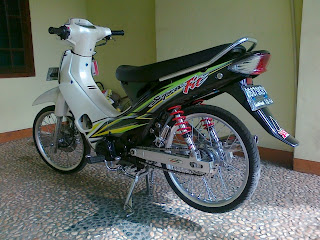 Modifikasi MotorSupra X 2013