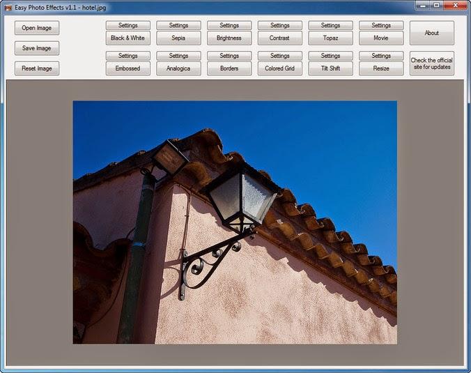 برنامج مجاني سهل الإستخدام لتحرير الصور وإضافة التأثيرات عليها Easy Photo Effects 3