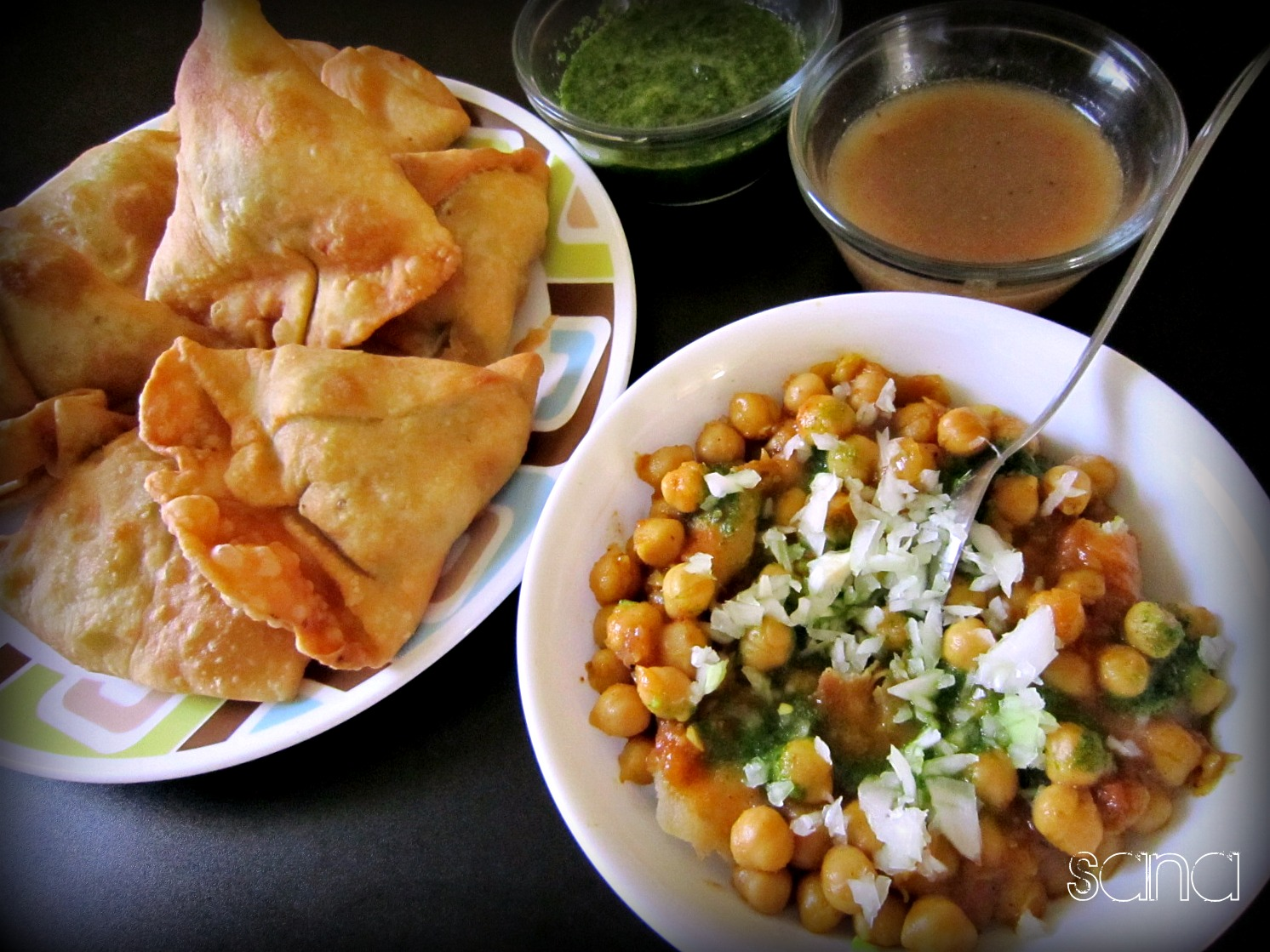 ragda samosa a blogful of food
