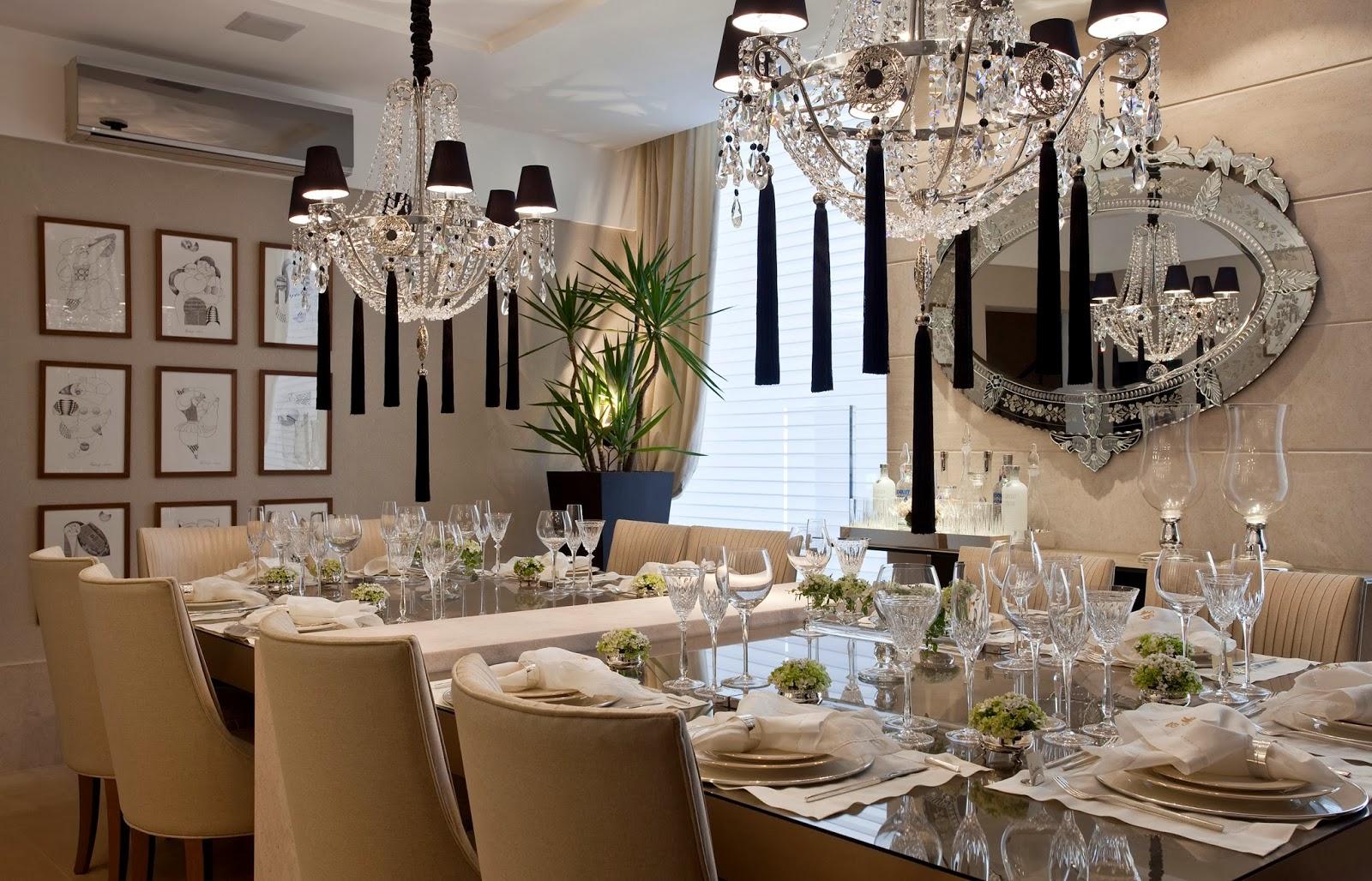 Sala De Jantar Casas Bahia ~  muito mais caro e inacessível a muitos, reforçando a ideia de luxo