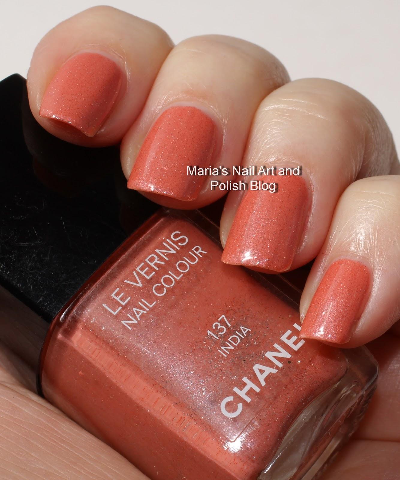 Marias Nail Art and Polish Blog: Chanel India 137 spring 2004 ...