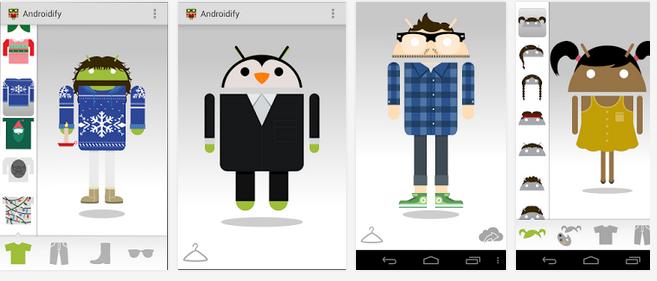 Androidify, Aplikasi Pembuat Logo Android Dari Google