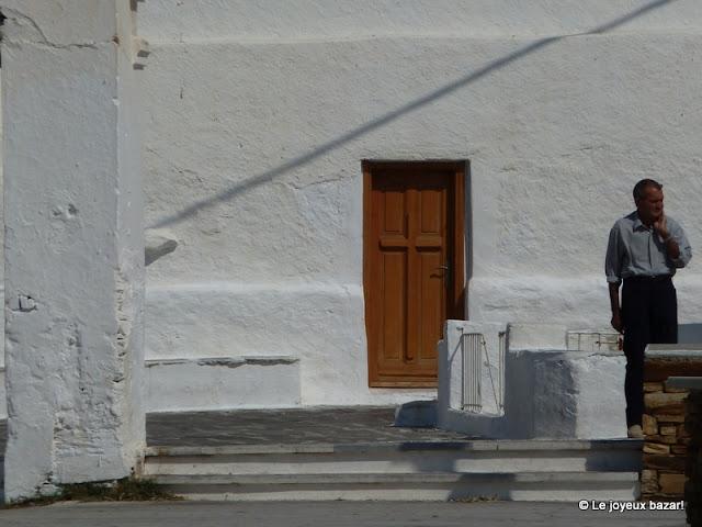Village d'Hora à Ios